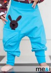 pants with rabbit in pocket