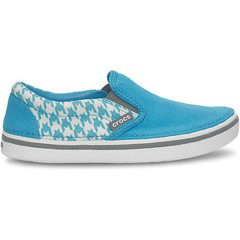 Hover Sneak Slip On Houndstooth für Jungs in blue/smoke