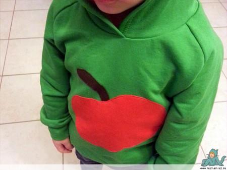Internaht Apfel Hoodie