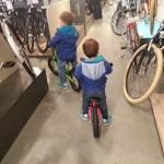 Indoor-Laufradtour