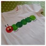 DIY: Raupe Nimmersatt T-Shirt