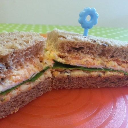 Tschubahälden-Sandwiches