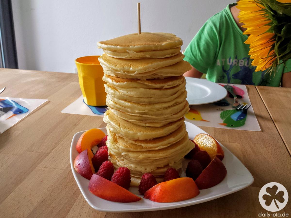 Weltbeste Pancakes (+Tagebuchbloggen)