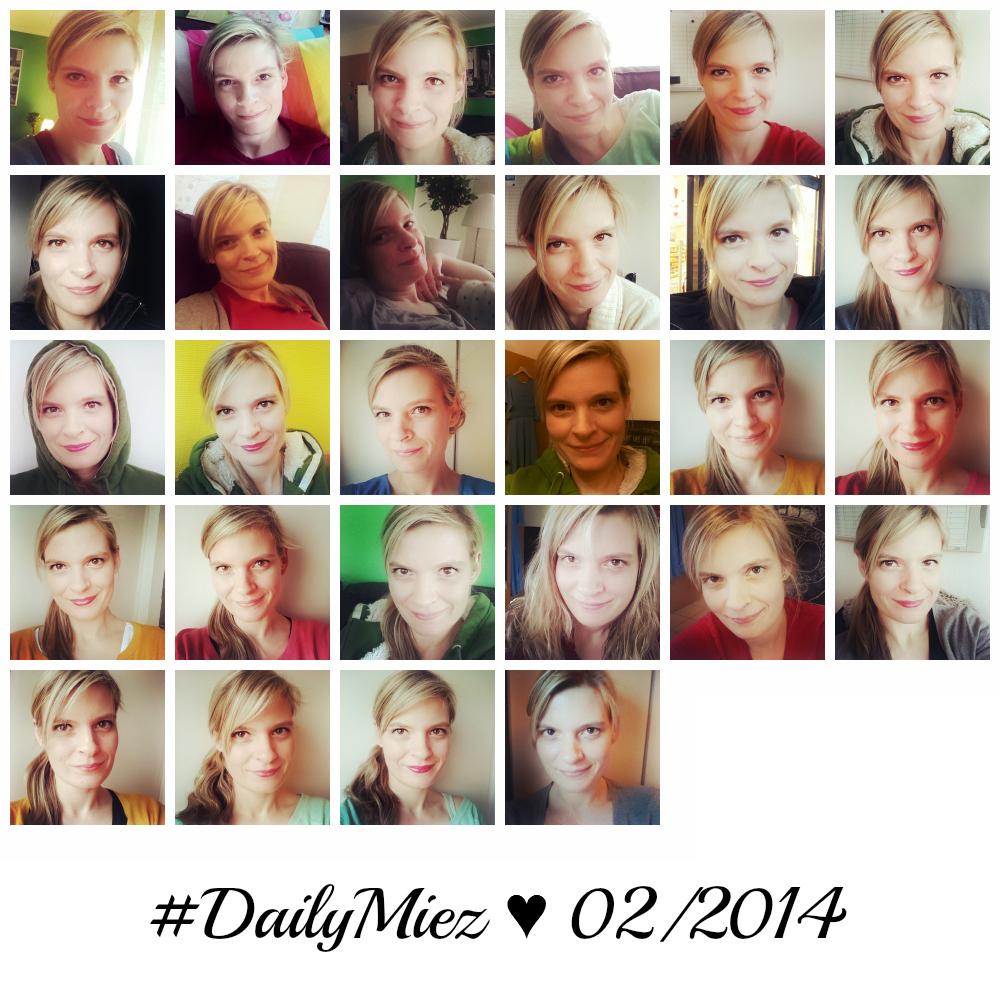 01. - 28. Februar 2014 #DailyMiez