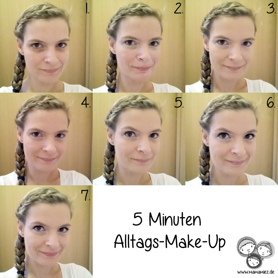 5 Minuten Alltags-Make-Up