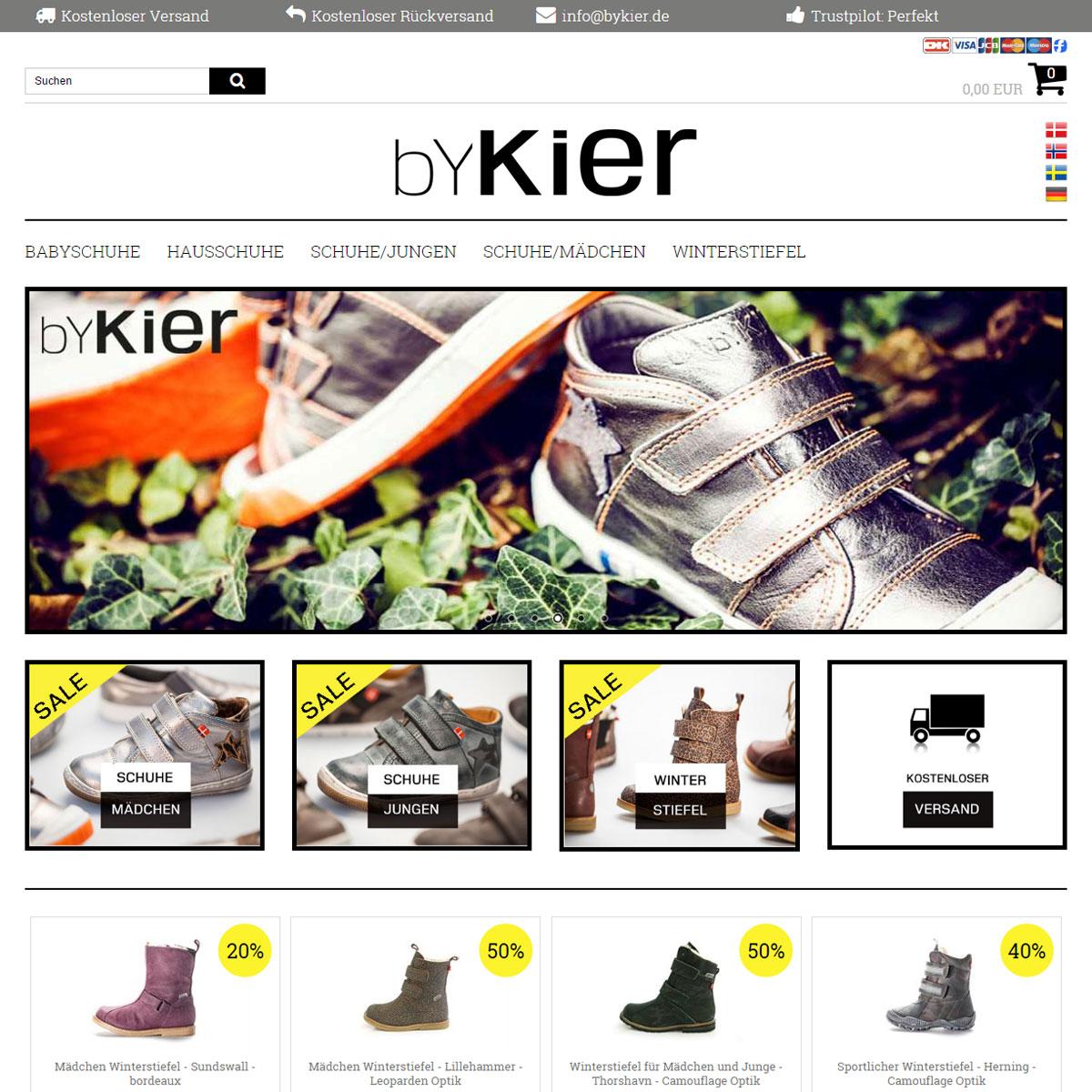 byKier – dänisches Design für Kinderfüße