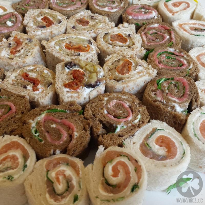 Stullen-Sushi für Partys und Brotdosen