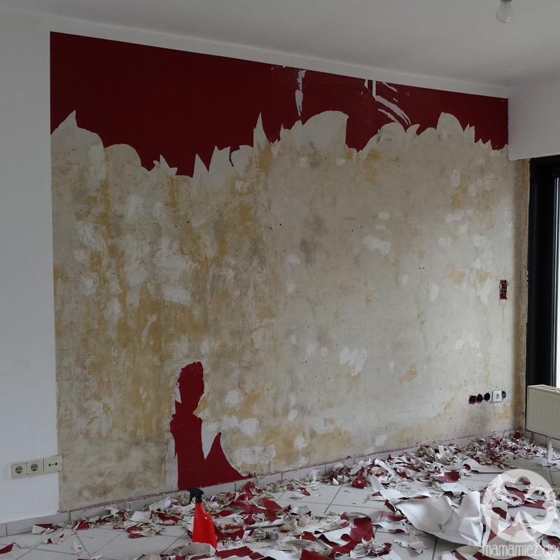 Perfekt Wohnzimmer Tapeten Ideen Florales Muster Weie Wohnzimmermbel. Tapeten  Trends 2015 Wohnzimmer .