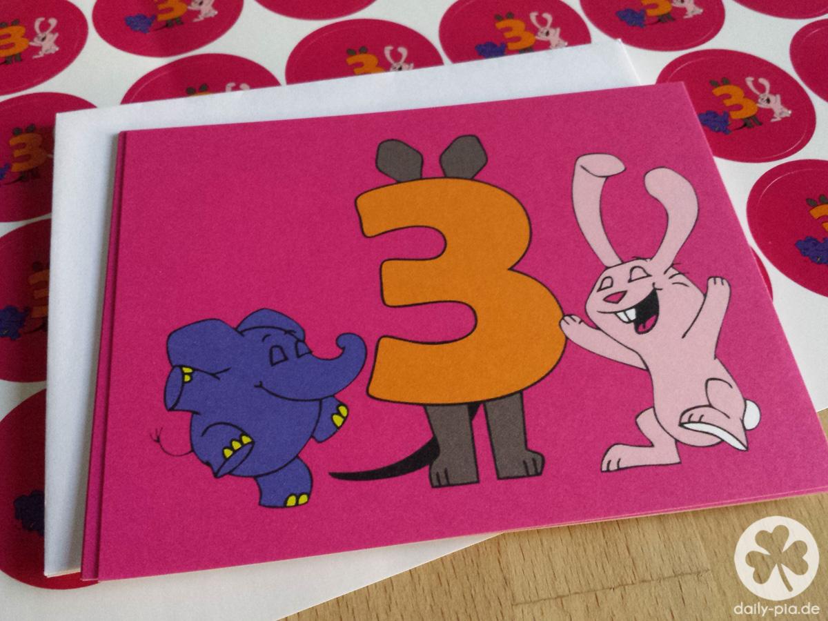 bis einer heult! • ein elefantastischer 3. geburtstag!, Einladung