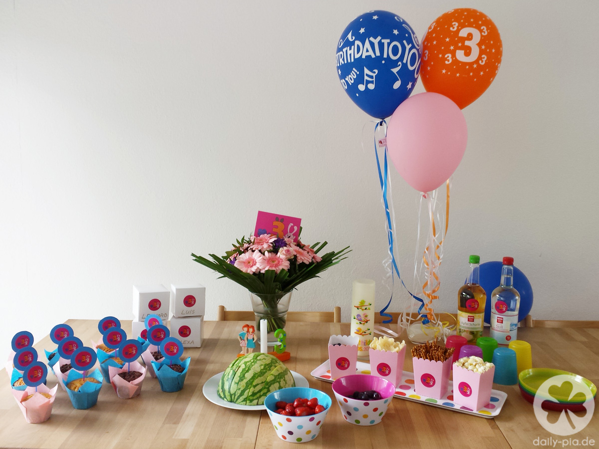 Ein elefantastischer 3. Geburtstag!