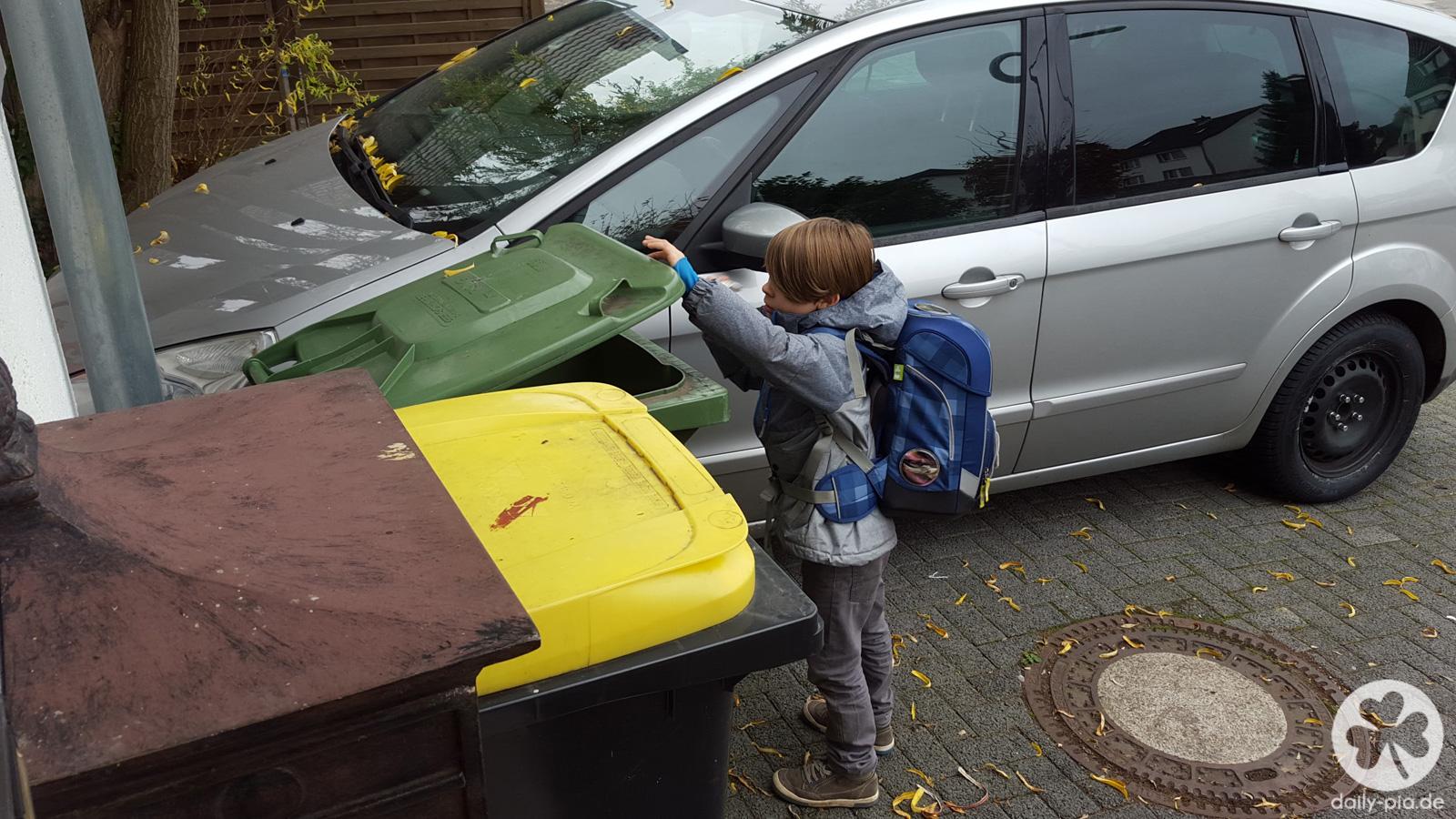 Kleiner Müllmann. Kleiner Weltverbesserer.