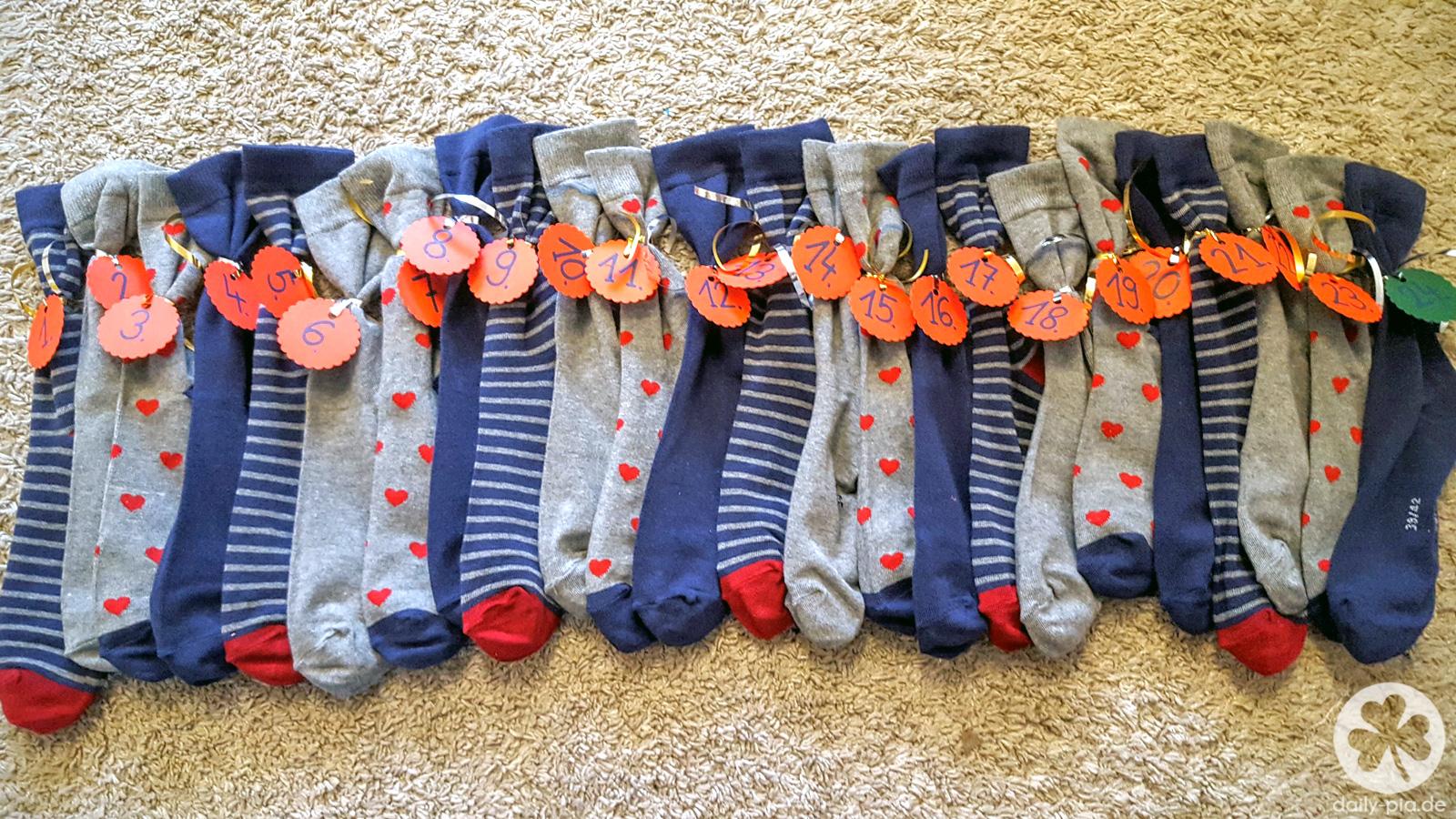 Ein Advent voller Socken