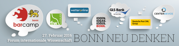 Barcamp Bonn #bcbn16
