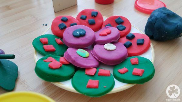 Alex' Kunstwerk:  Schoko-Cookies