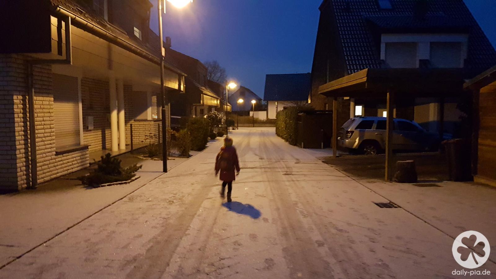 Verheerender Wintereinbruch