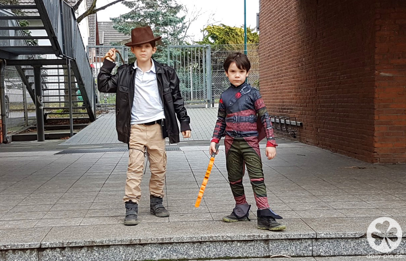 Alaaf 2017 – Schulkarneval und Jilian