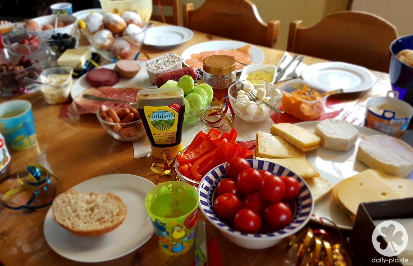 Alaaf 2017 – ein dezentes Karnevalsfrühstück