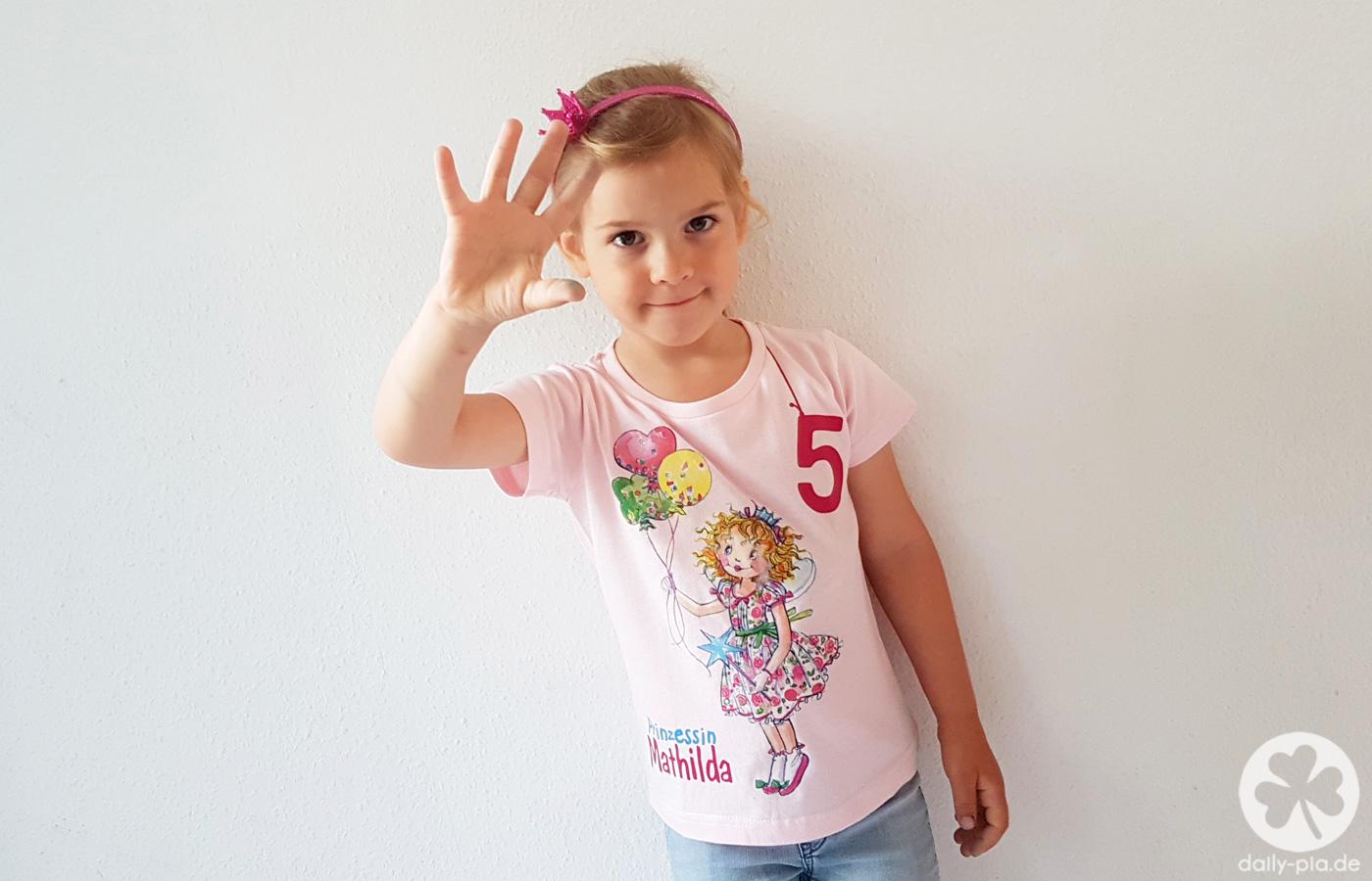 Prinzessin Mimifee ist jetzt 5!