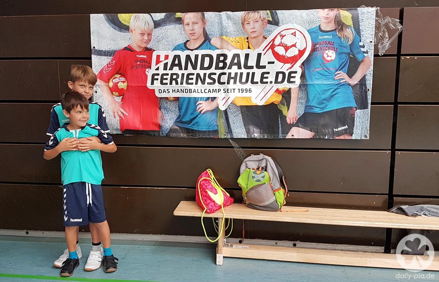 Handballcamp & ungeliebte Aufgaben