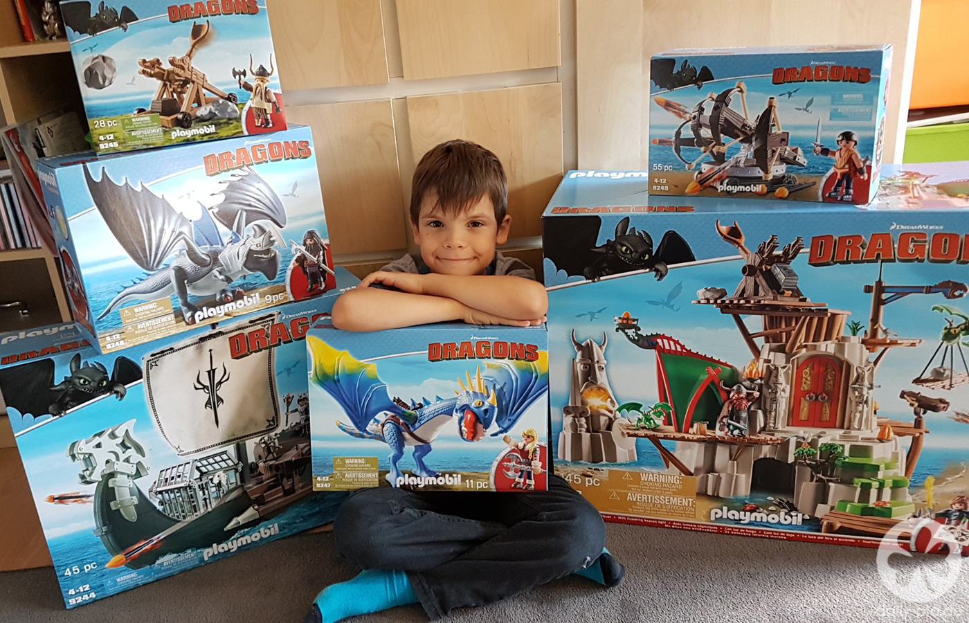 Max und die Playmobil Dragons