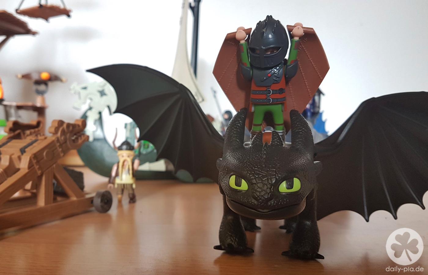 Bis Einer Heult Max Und Die Playmobil Dragons