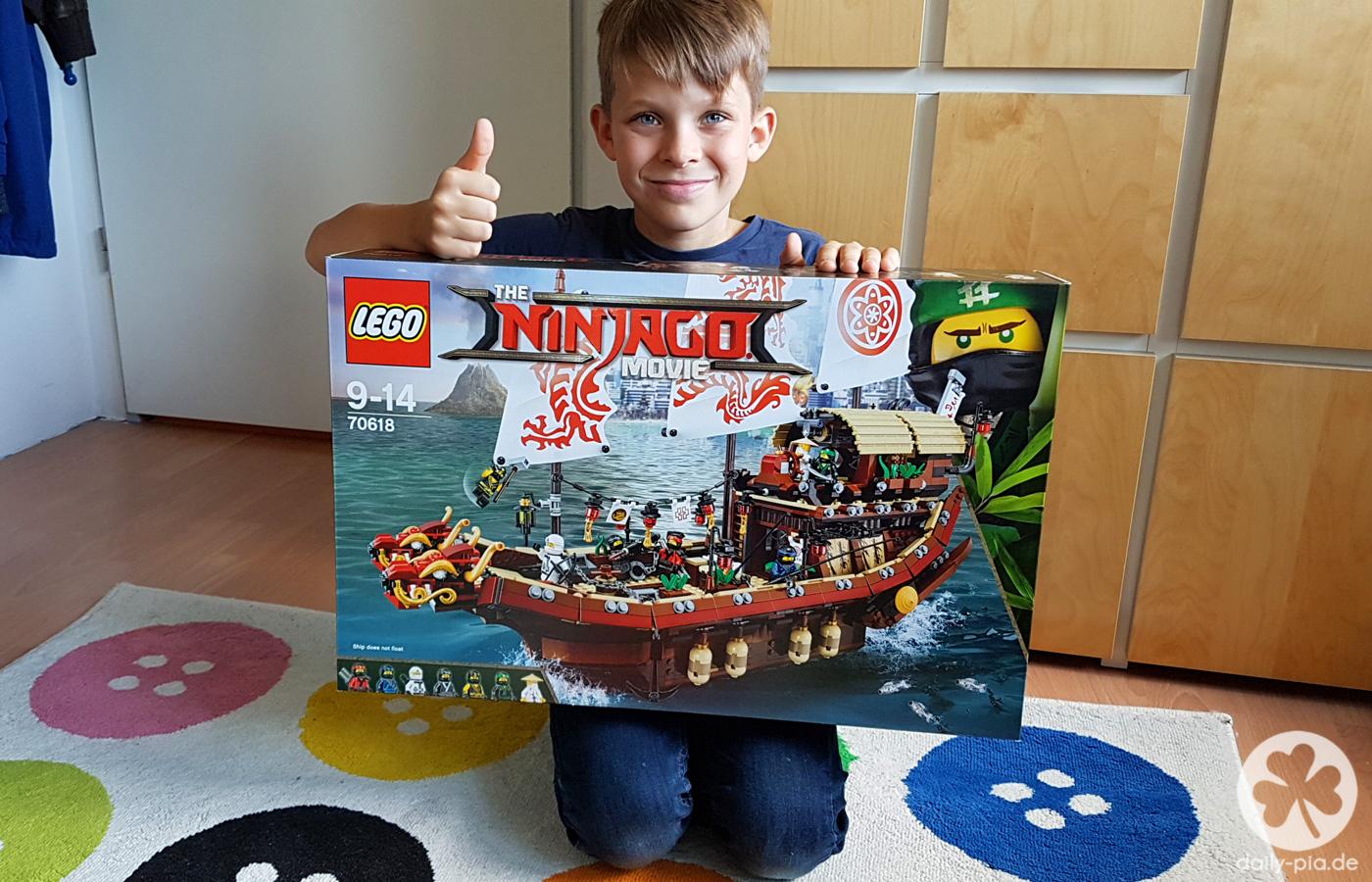 The Lego Ninjago Movie & der Ninja-Flugsegler
