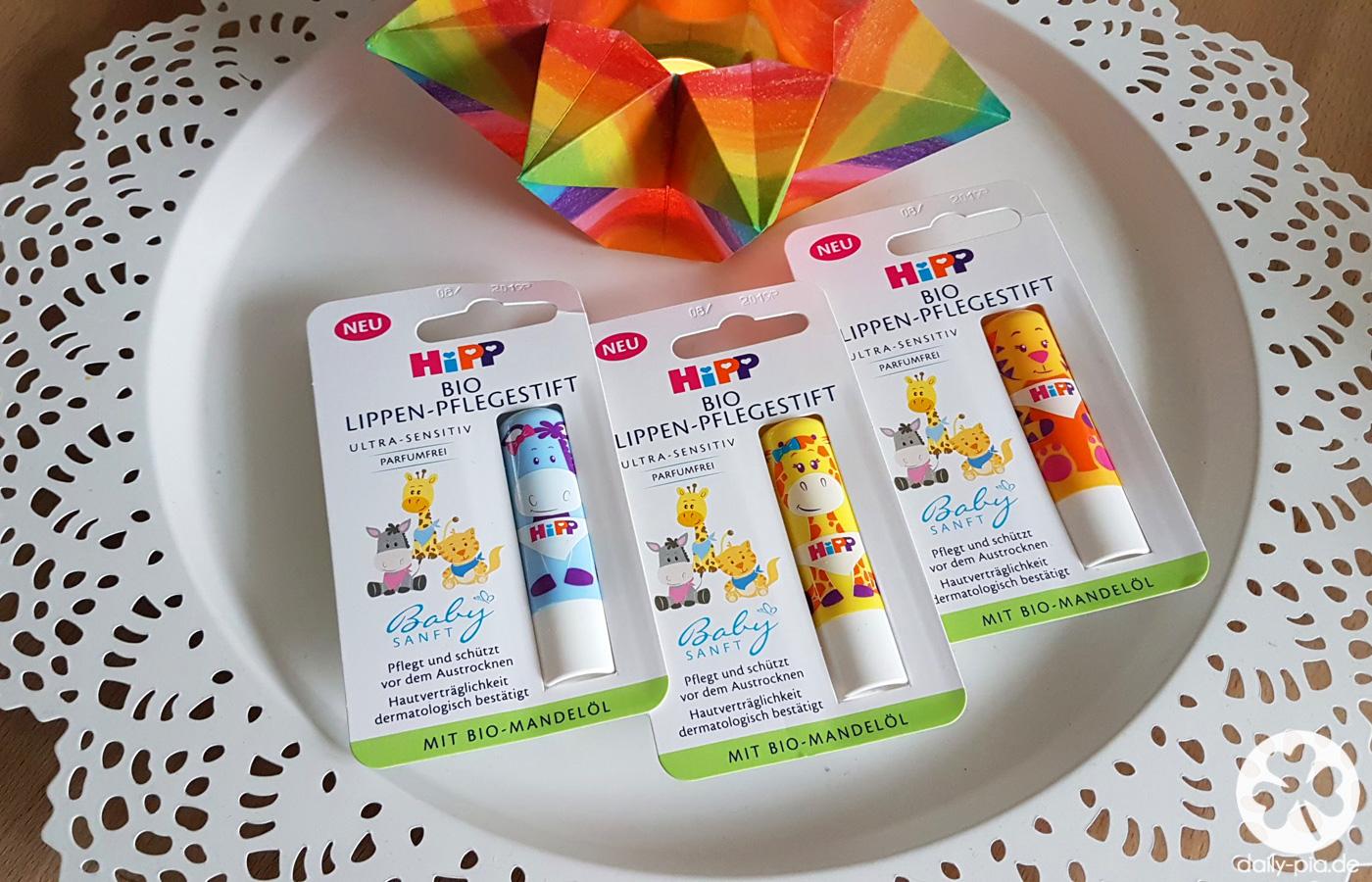 Der HiPP Babysanft Bio Lippen-Pflegestift