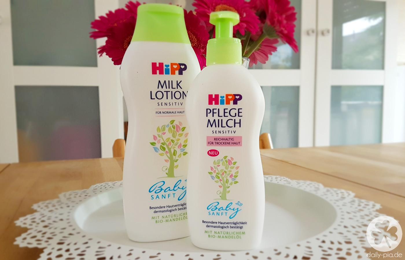 [Werbung] HiPP Babysanft Milk Lotion & Pflegemilch – auch für Große